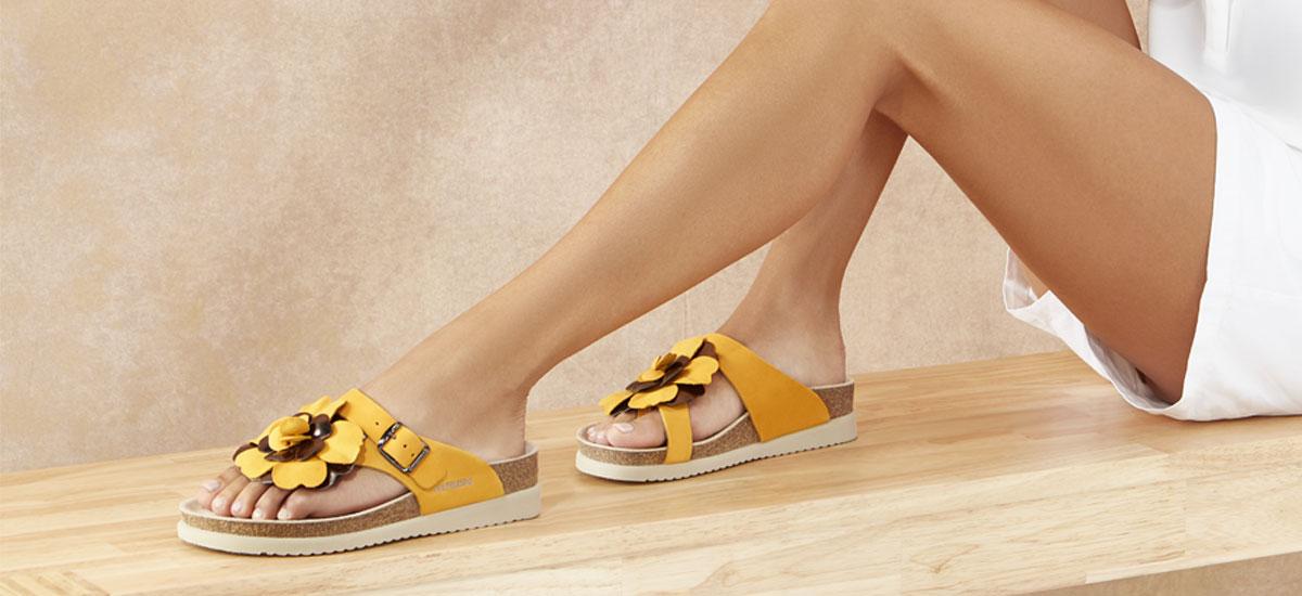Sandales en liège naturel